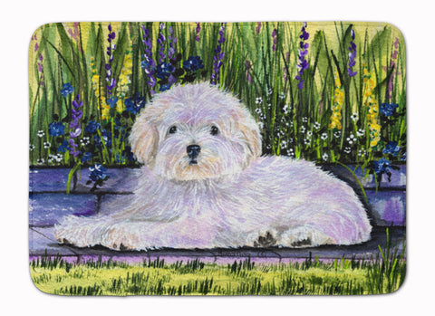 Buy this Coton de Tulear Machine Washable Memory Foam Mat SS8430RUG