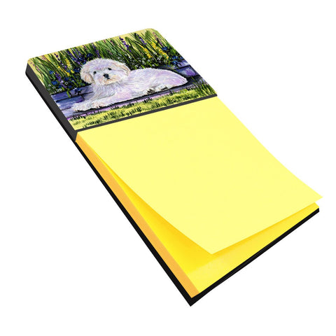 Buy this Coton de Tulear Refiillable Sticky Note Holder or Postit Note Dispenser SS8430SN