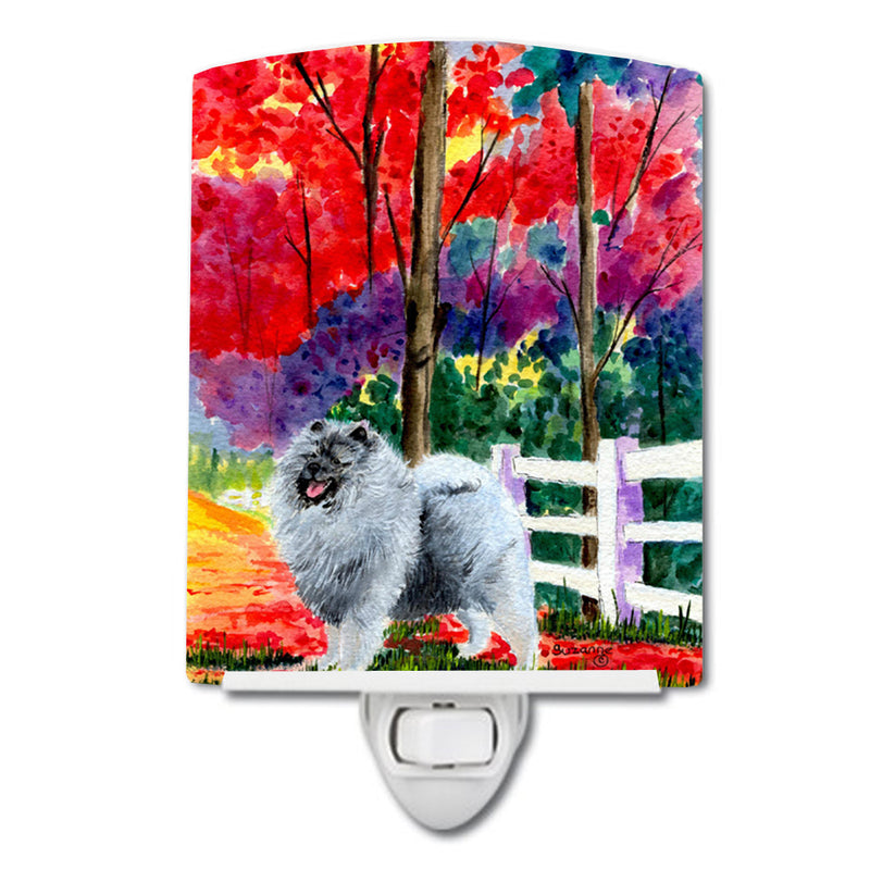 Buy this Keeshond Ceramic Night Light SS8432CNL