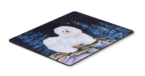 Buy this Starry Night Coton de Tulear Mouse Pad / Hot Pad / Trivet