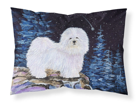 Buy this Starry Night Coton de Tulear Moisture wicking Fabric standard pillowcase