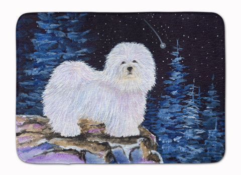 Buy this Starry Night Coton de Tulear Machine Washable Memory Foam Mat SS8437RUG