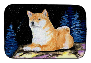 Buy this Starry Night Shiba Inu Dish Drying Mat SS8445DDM