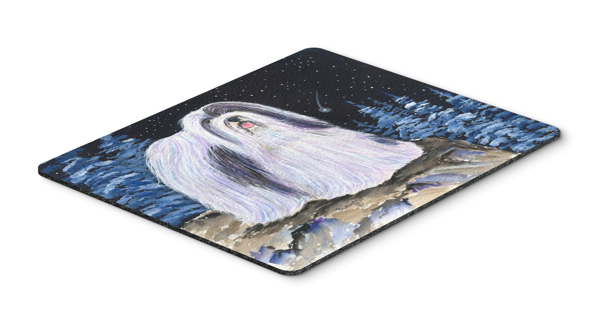 Starry Night Havanese Mouse Pad / Hot Pad / Trivet by Caroline's Treasures