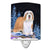 Buy this Starry Night Bearded Collie Ceramic Night Light SS8451CNL