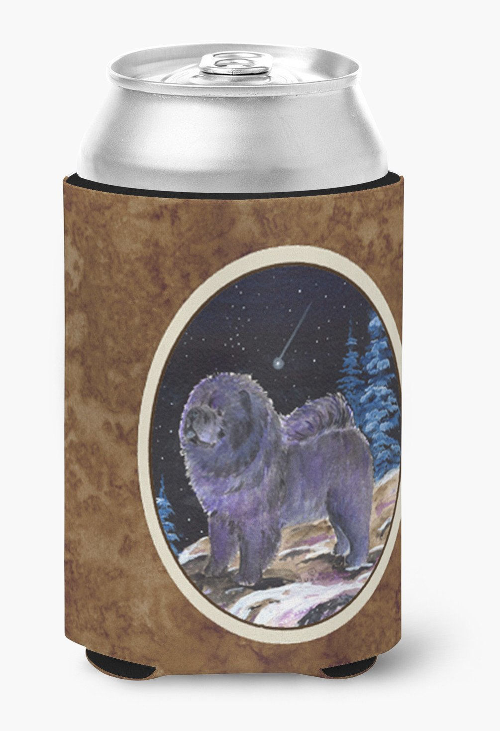Starry Night Chow Chow Can or Bottle Beverage Insulator Hugger by Caroline's Treasures