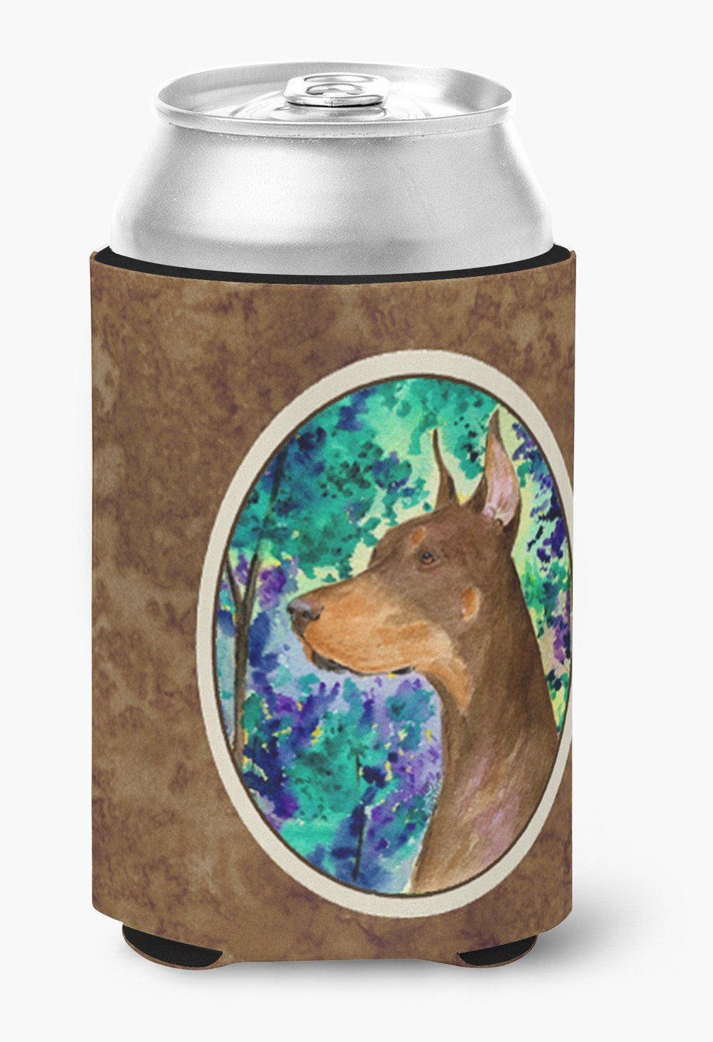 Buy this Doberman Can or Bottle Beverage Insulator Hugger