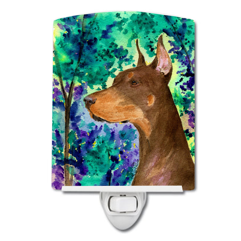 Buy this Doberman Ceramic Night Light SS8457CNL