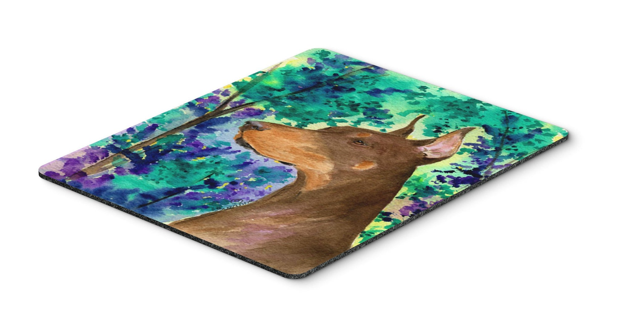 Buy this Doberman Mouse Pad / Hot Pad / Trivet