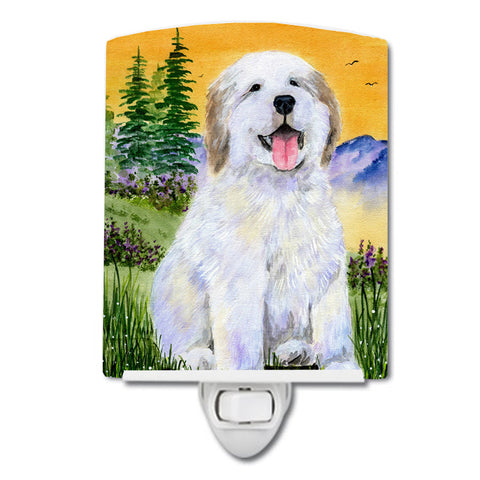 Buy this Great Pyrenees Ceramic Night Light SS8469CNL