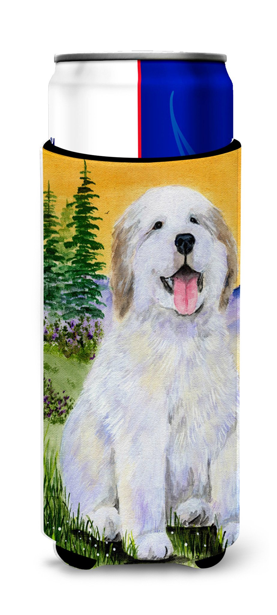 Great Pyrenees Ultra Beverage Insulators for slim cans SS8469MUK by Caroline's Treasures