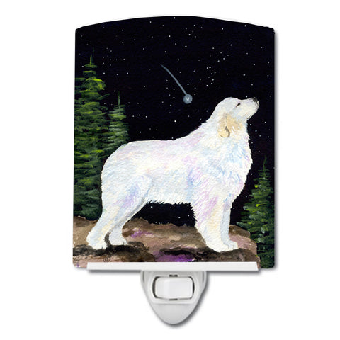 Buy this Starry Night Great Pyrenees Ceramic Night Light SS8471CNL