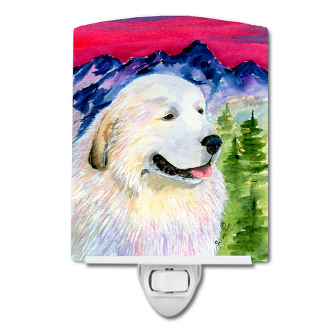 Buy this Great Pyrenees Ceramic Night Light SS8473CNL