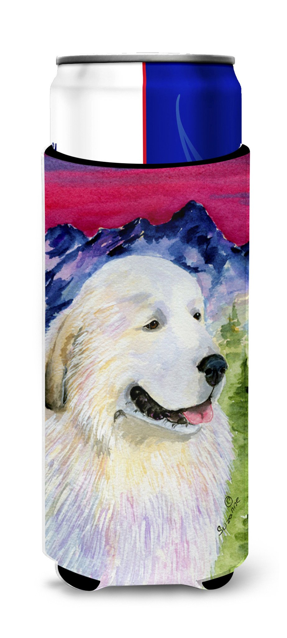 Great Pyrenees Ultra Beverage Insulators for slim cans SS8473MUK by Caroline's Treasures