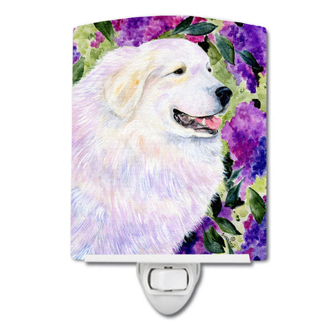 Buy this Great Pyrenees Ceramic Night Light SS8474CNL