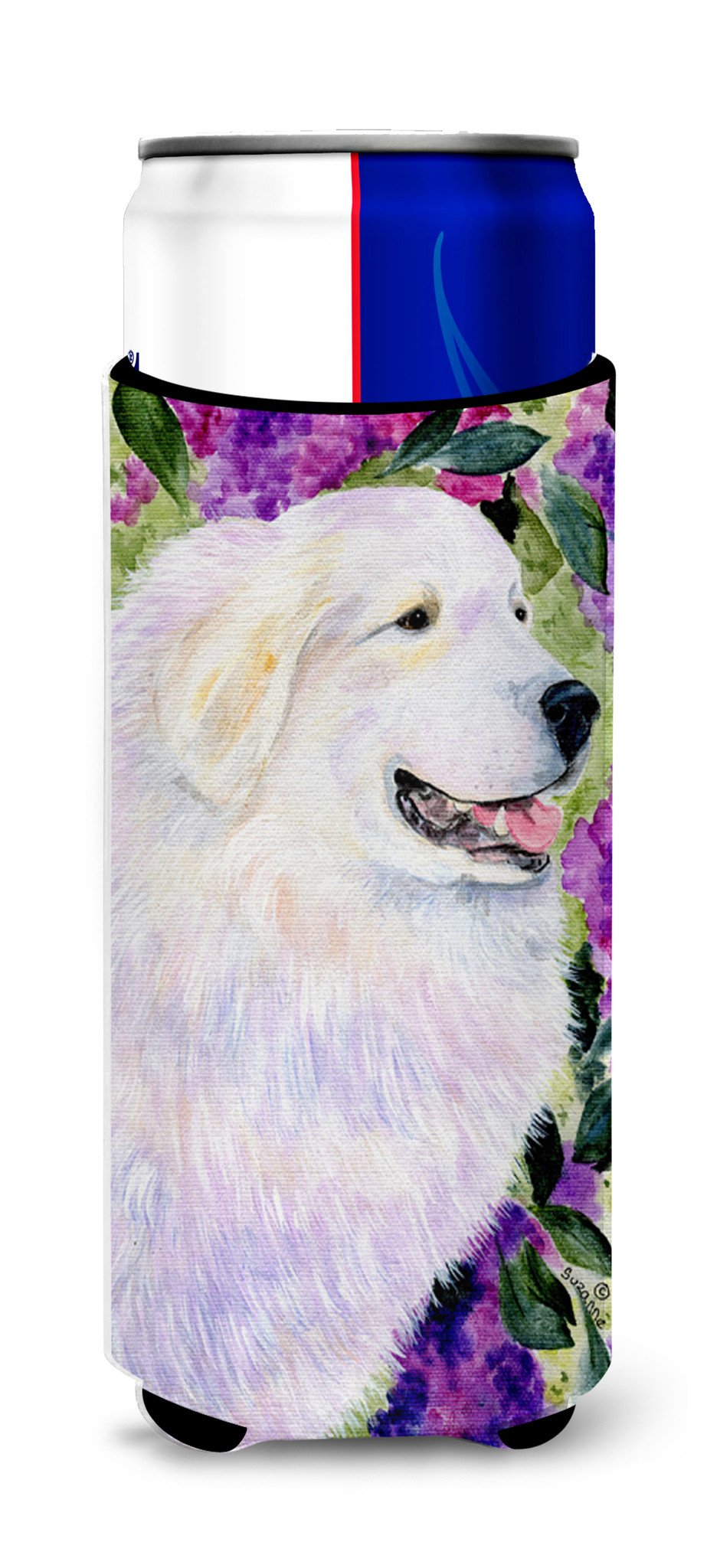 Great Pyrenees Ultra Beverage Insulators for slim cans SS8474MUK by Caroline's Treasures