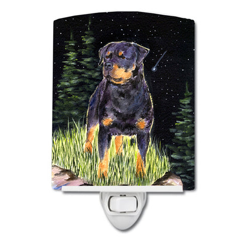 Buy this Starry Night Rottweiler Ceramic Night Light SS8475CNL