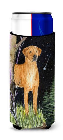 Buy this Starry Night Rhodesian Ridgeback Ultra Beverage Insulators for slim cans SS8479MUK