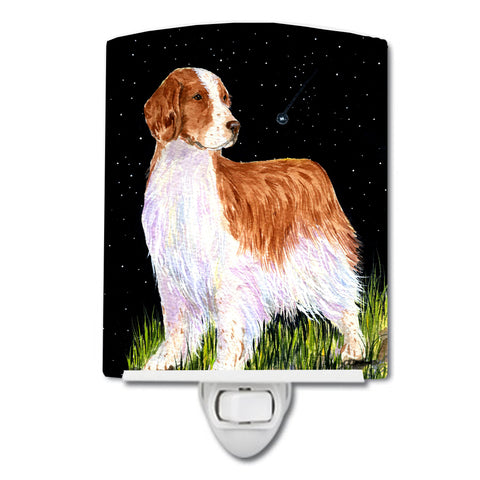 Buy this Starry Night Welsh Springer Spaniel Ceramic Night Light SS8482CNL