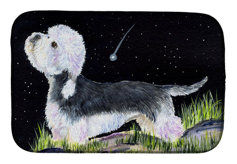 Buy this Starry Night Dandie Dinmont Terrier Dish Drying Mat SS8486DDM