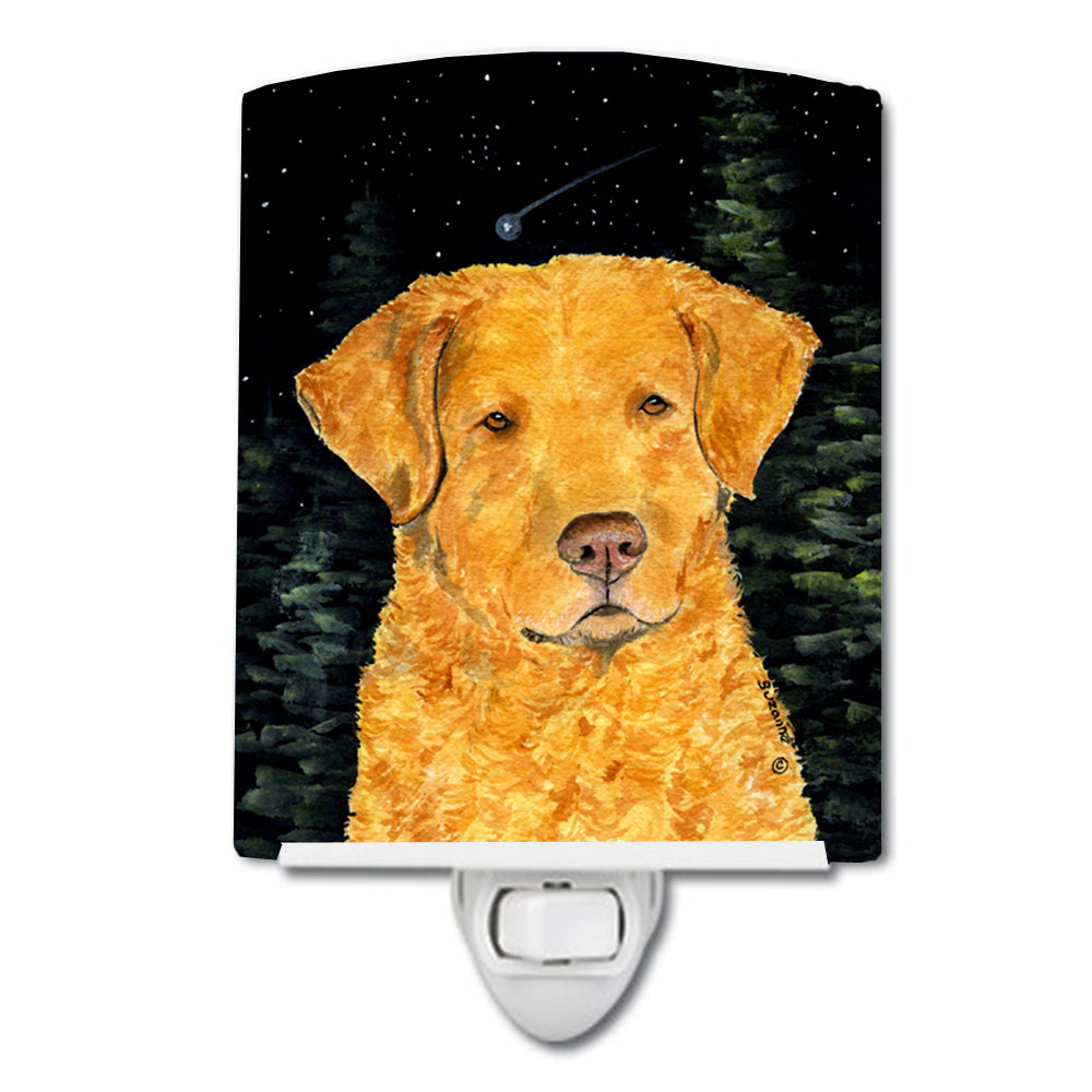 Buy this Starry Night Chesapeake Bay Retriever Ceramic Night Light SS8487CNL