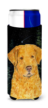 Starry Night Chesapeake Bay Retriever Ultra Beverage Insulators for slim cans SS8487MUK by Caroline's Treasures