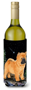 Buy this Starry Night Chow Chow Wine Bottle Beverage Insulator Beverage Insulator Hugger SS8488LITERK