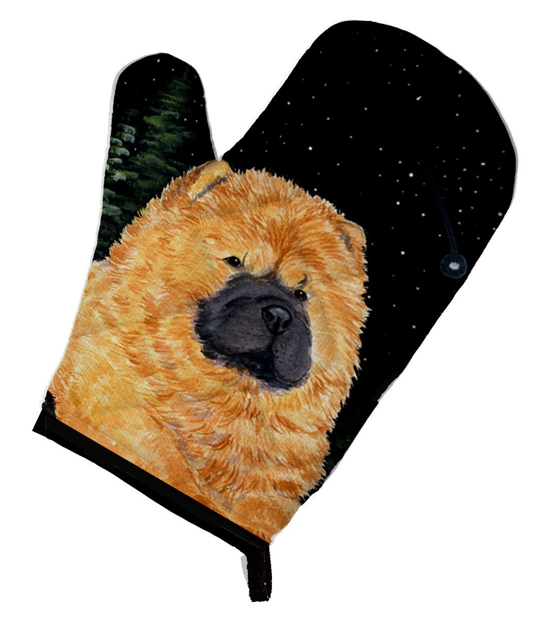 Starry Night Chow Chow Oven Mitt SS8489OVMT by Caroline's Treasures