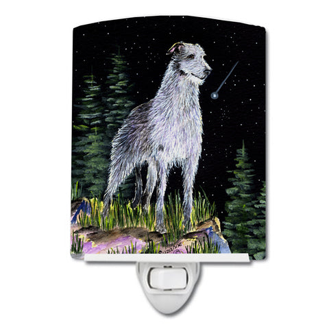 Buy this Starry Night Scottish Deerhound Ceramic Night Light SS8493CNL