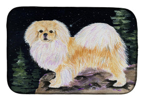 Buy this Starry Night Tibetan Spaniel Dish Drying Mat SS8504DDM