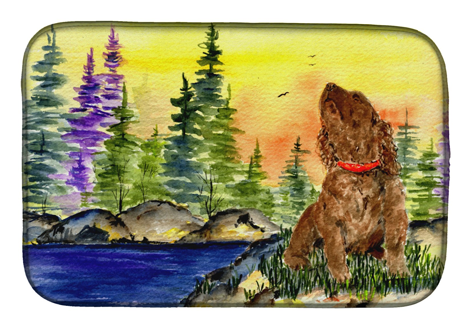 Buy this American Water Spaniel Dish Drying Mat SS8509DDM