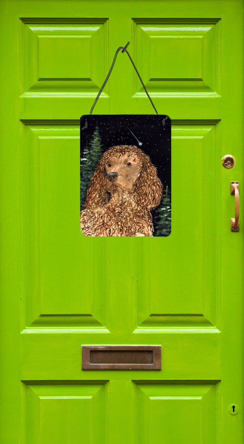 Buy this American Water Spaniel Aluminium Metal Wall or Door Hanging Prints