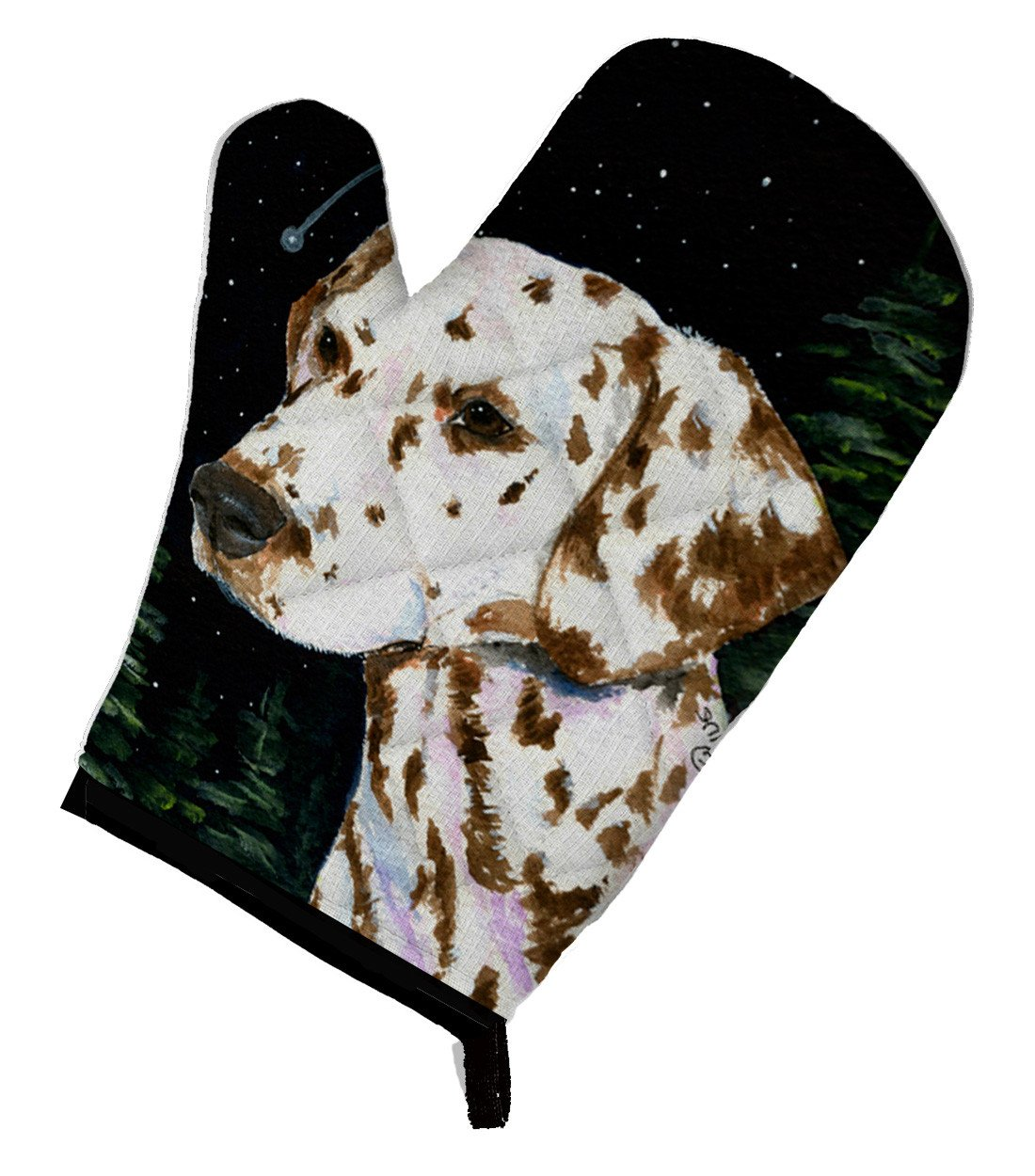 Starry Night Dalmatian Oven Mitt SS8518OVMT by Caroline's Treasures