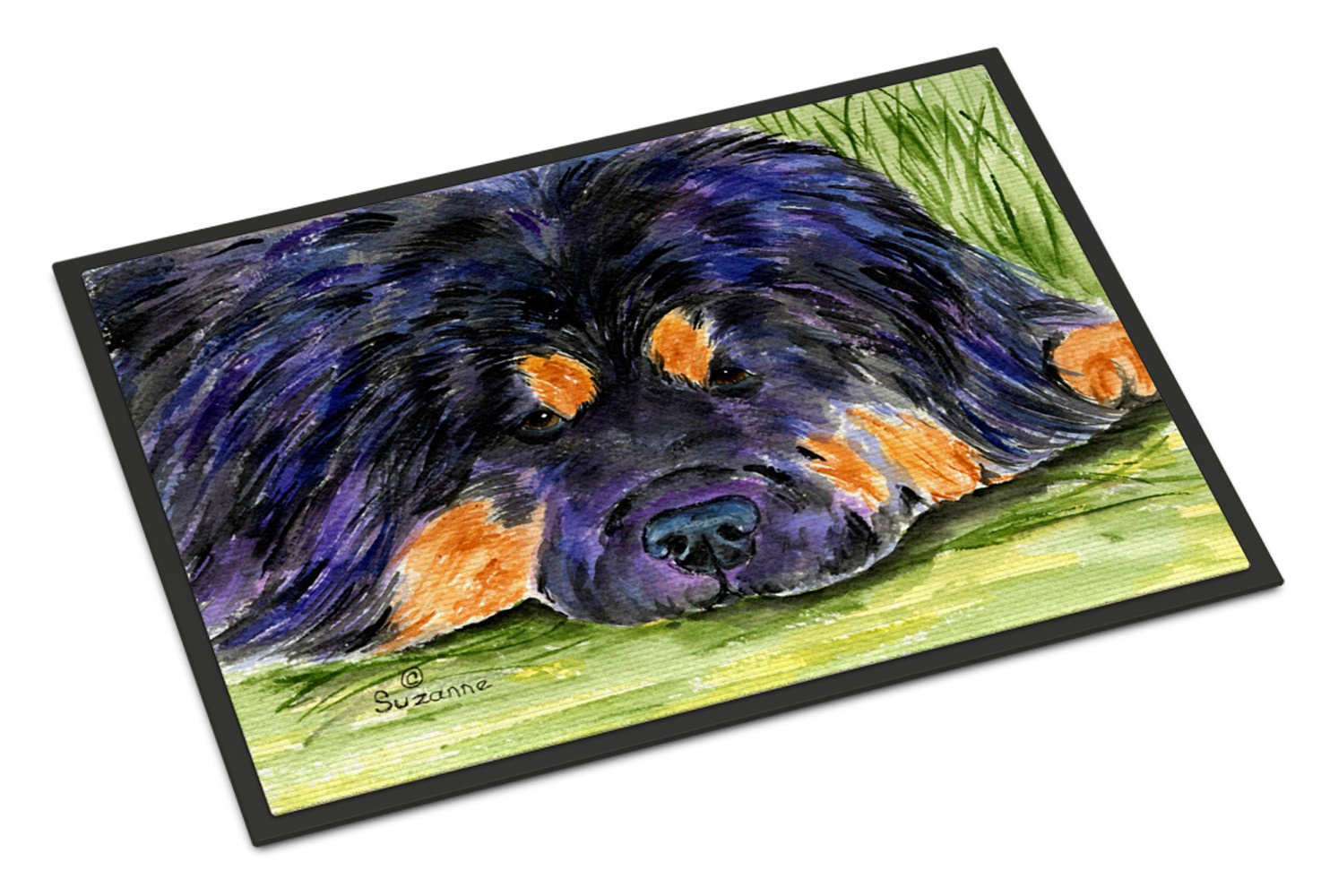 Tibetan Mastiff Indoor Outdoor Mat 18x27 Doormat by Caroline's Treasures