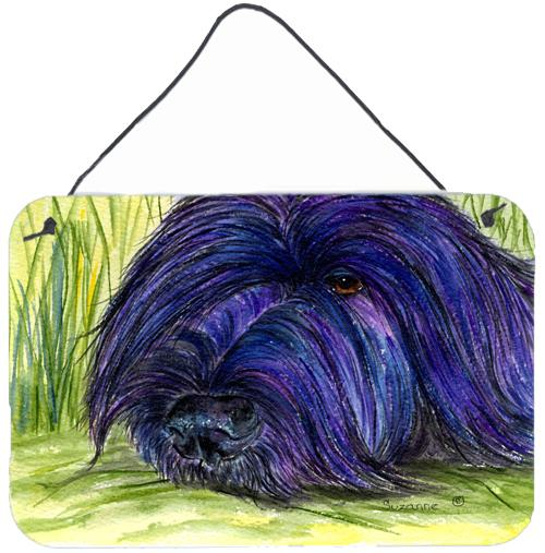 Buy this Briard Indoor Aluminium Metal Wall or Door Hanging Prints