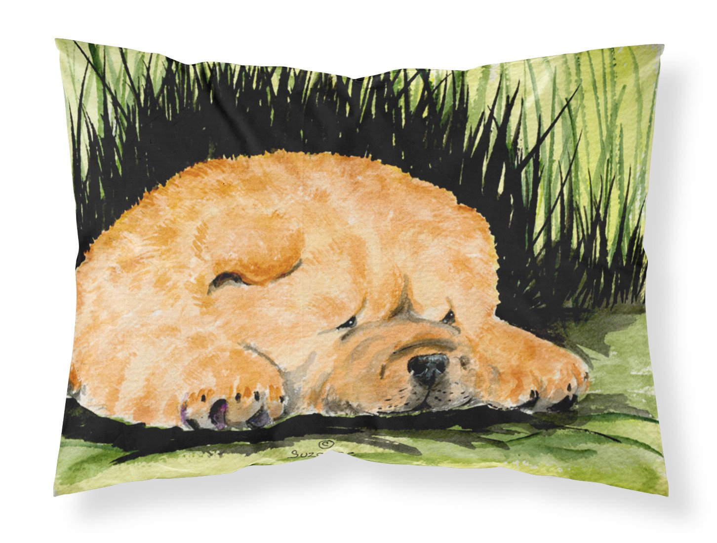 Chow Chow Moisture wicking Fabric standard pillowcase by Caroline's Treasures