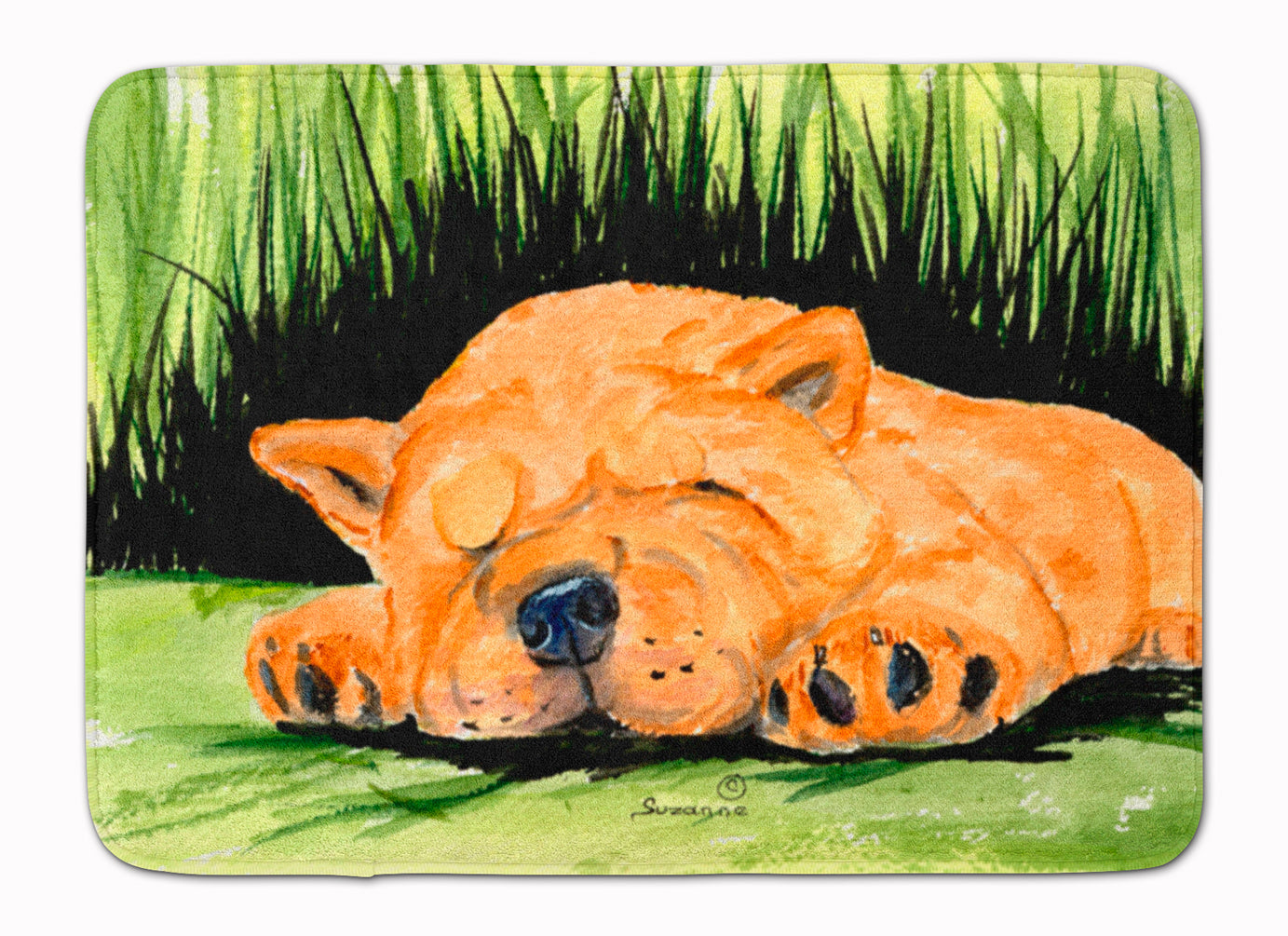 Chow Chow Machine Washable Memory Foam Mat SS8526RUG by Caroline's Treasures