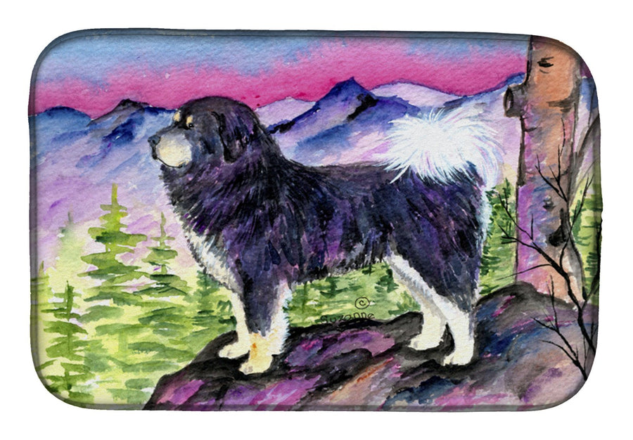 Buy this Tibetan Mastiff Dish Drying Mat SS8528DDM