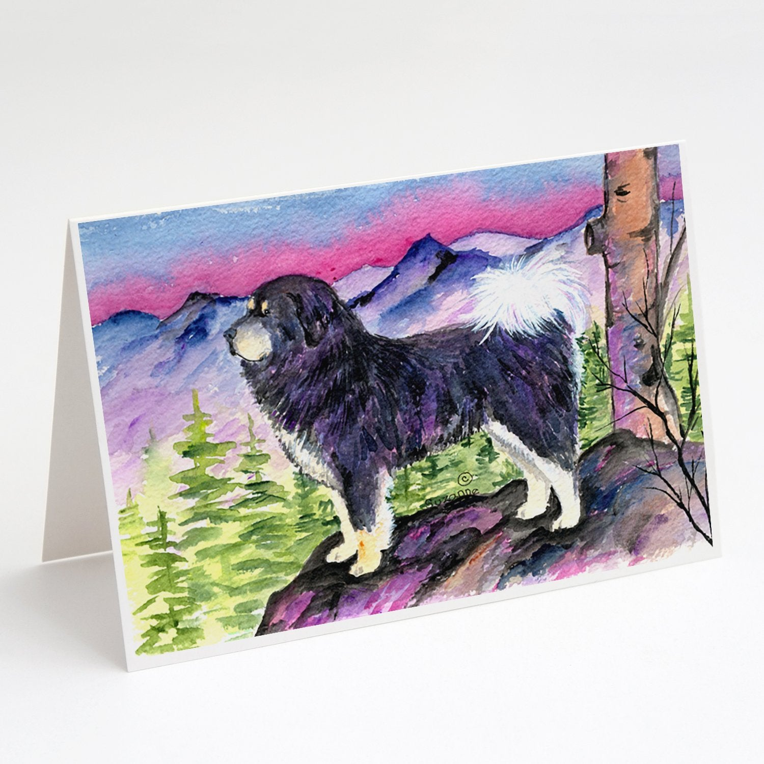 Buy this Tibetan Mastiff Greeting Cards and Envelopes Pack of 8