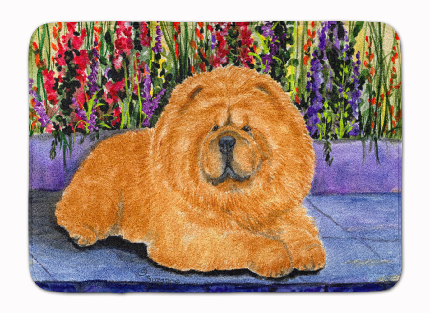 Chow Chow Machine Washable Memory Foam Mat SS8601RUG by Caroline's Treasures