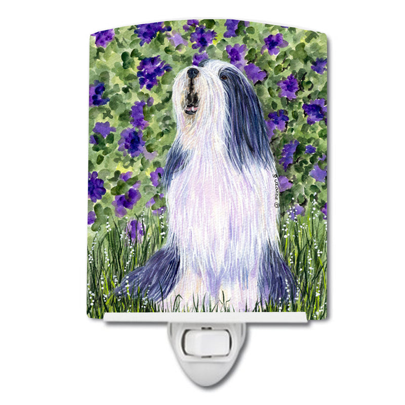 Buy this Bearded Collie Ceramic Night Light SS8602CNL