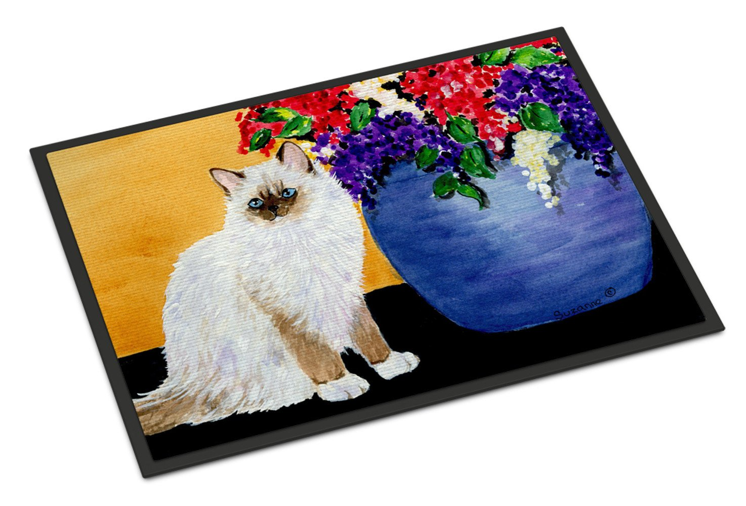 Cat - Ragdoll Indoor or Outdoor Mat 18x27 Doormat - the-store.com
