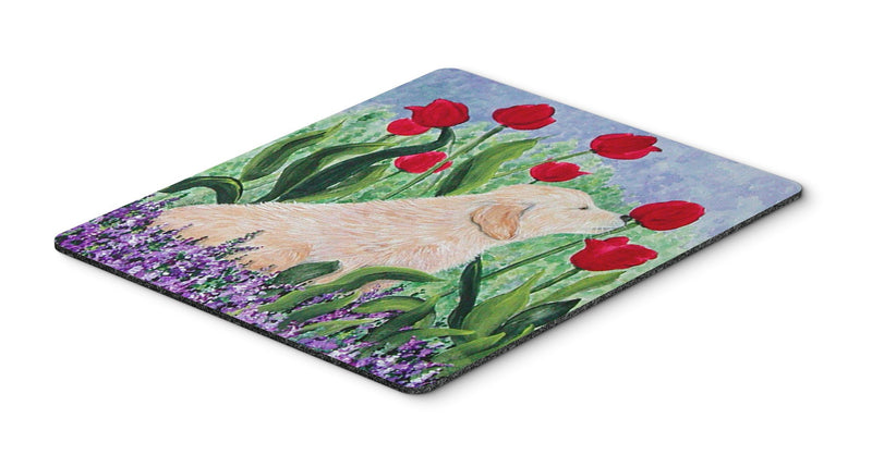 Buy this Golden Retriever Mouse Pad, Hot Pad or Trivet