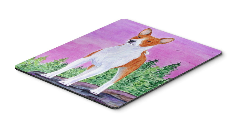 Buy this Basenji Mouse Pad, Hot Pad or Trivet