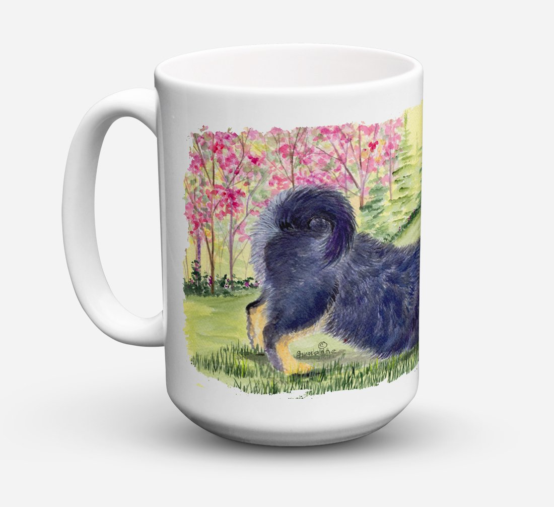 Buy this Tibetan Mastiff Dishwasher Safe Microwavable Ceramic Coffee Mug 15 ounce SS8612CM15