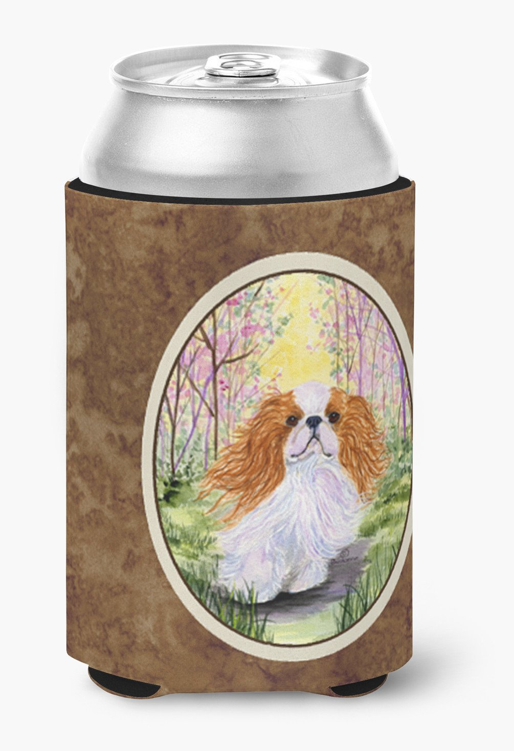English Toy Spaniel Can or Bottle Beverage Insulator Hugger by Caroline's Treasures