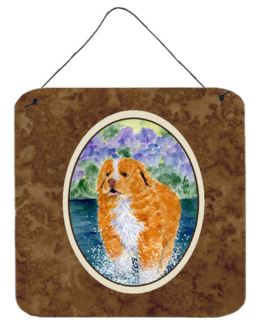Buy this Nova Scotia Duck Toller Aluminium Metal Wall or Door Hanging Prints