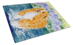 Buy this Nova Scotia Duck Toller Glass Cutting Board Large