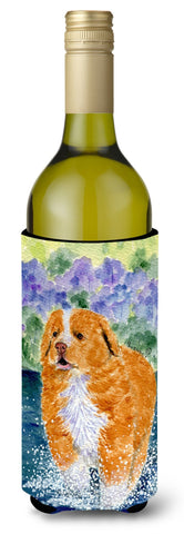 Buy this Nova Scotia Duck Toller Wine Bottle Beverage Insulator Beverage Insulator Hugger SS8619LITERK
