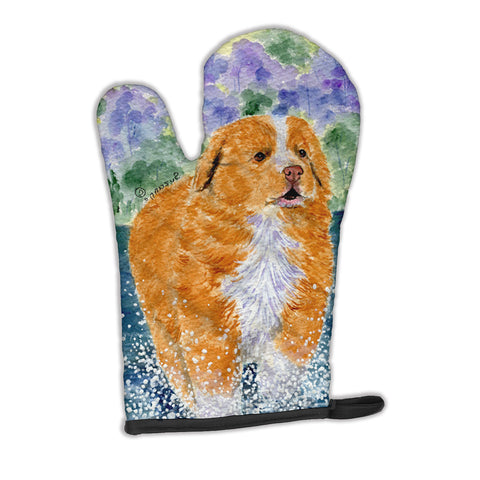 Buy this Nova Scotia Duck Toller Oven Mitt SS8619OVMT